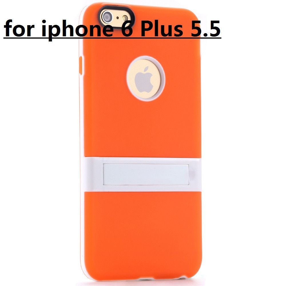 New Candy Color! Kickstand Soft TPU Case for Apple iphone