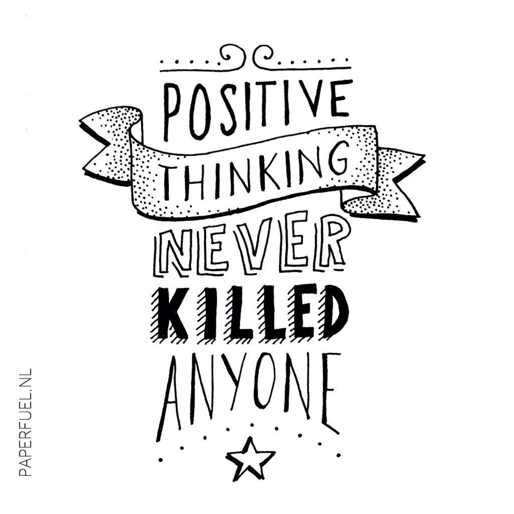 Sending you all some positive vibes! :-) #lettering #handlettering #paperfuel