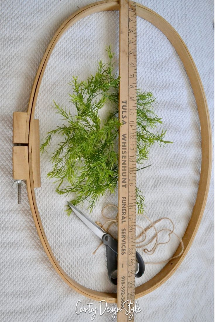 Embroidery Hoop Wreath And Ideas To Make Them Gifts Thrift Finds