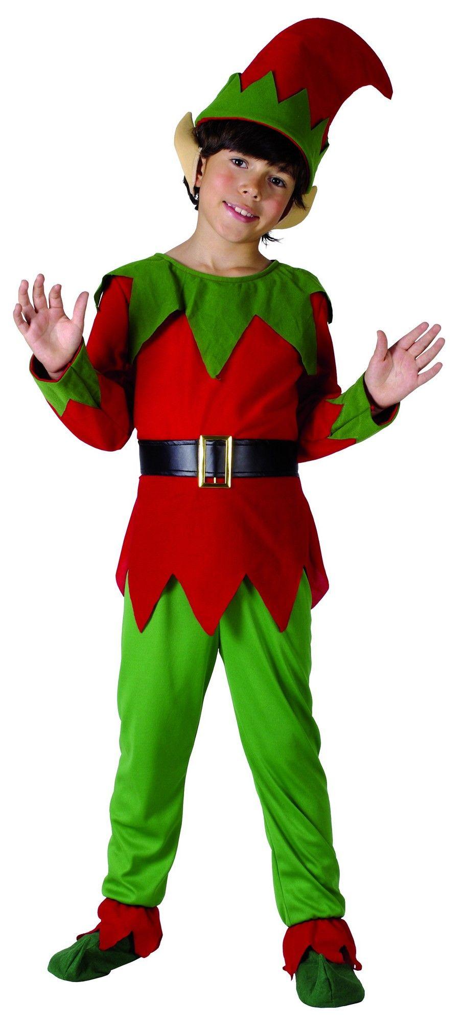 e74b27ea3e9b Costume elfo bambino | arte per bimbi | Elfo di natale, Vestiti ...