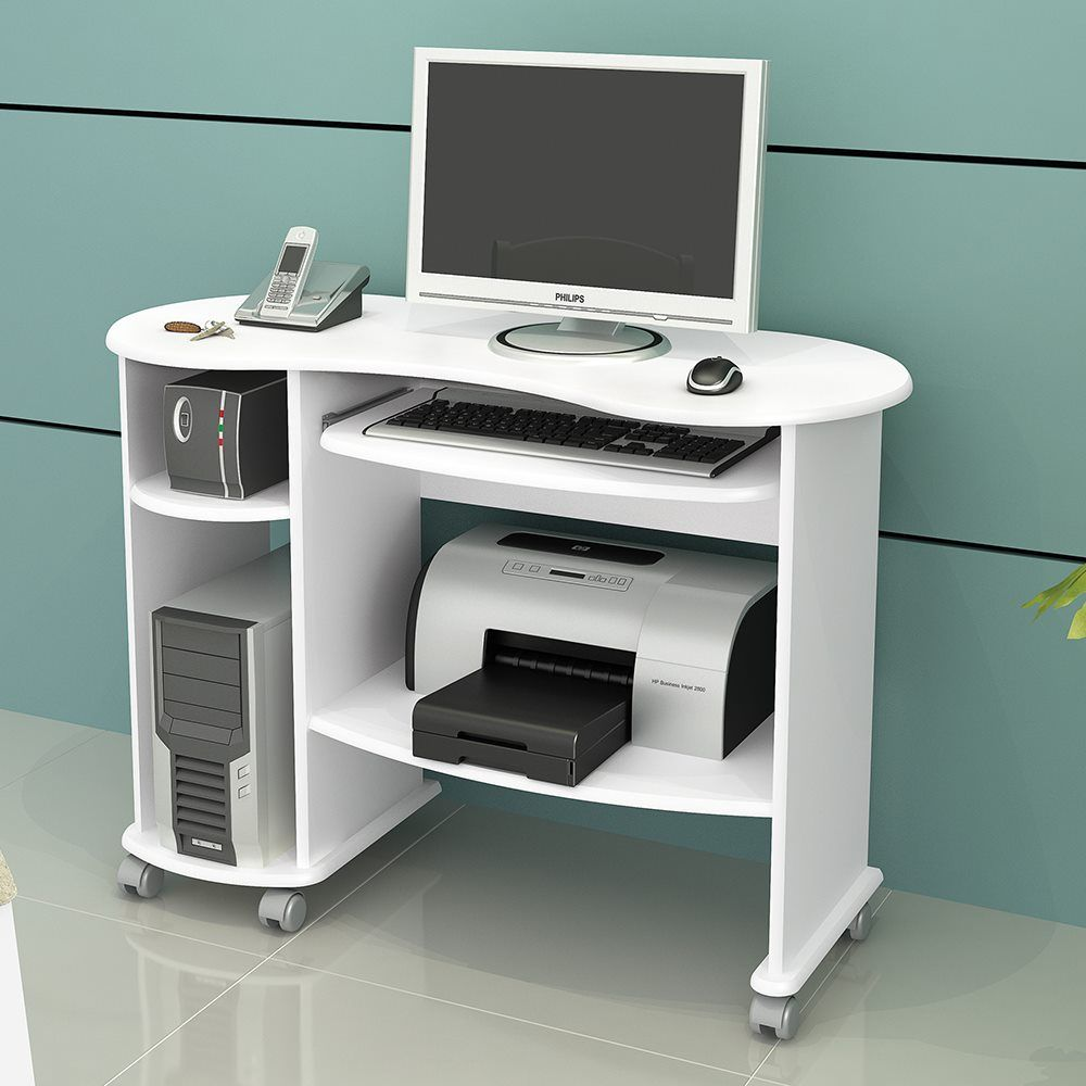 Mesa Para Computador C18 Em Mdf Dalla Costa Muebles