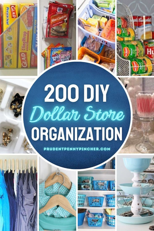 200 Diy Dollar Store Organization Ideas Dollar Store Diy Organization Dollar Tree Diy Organization Dollar Store Organizing