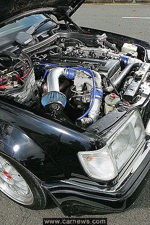2jz-gte in old e class Benz | Japanese Vehicles | Engine swap