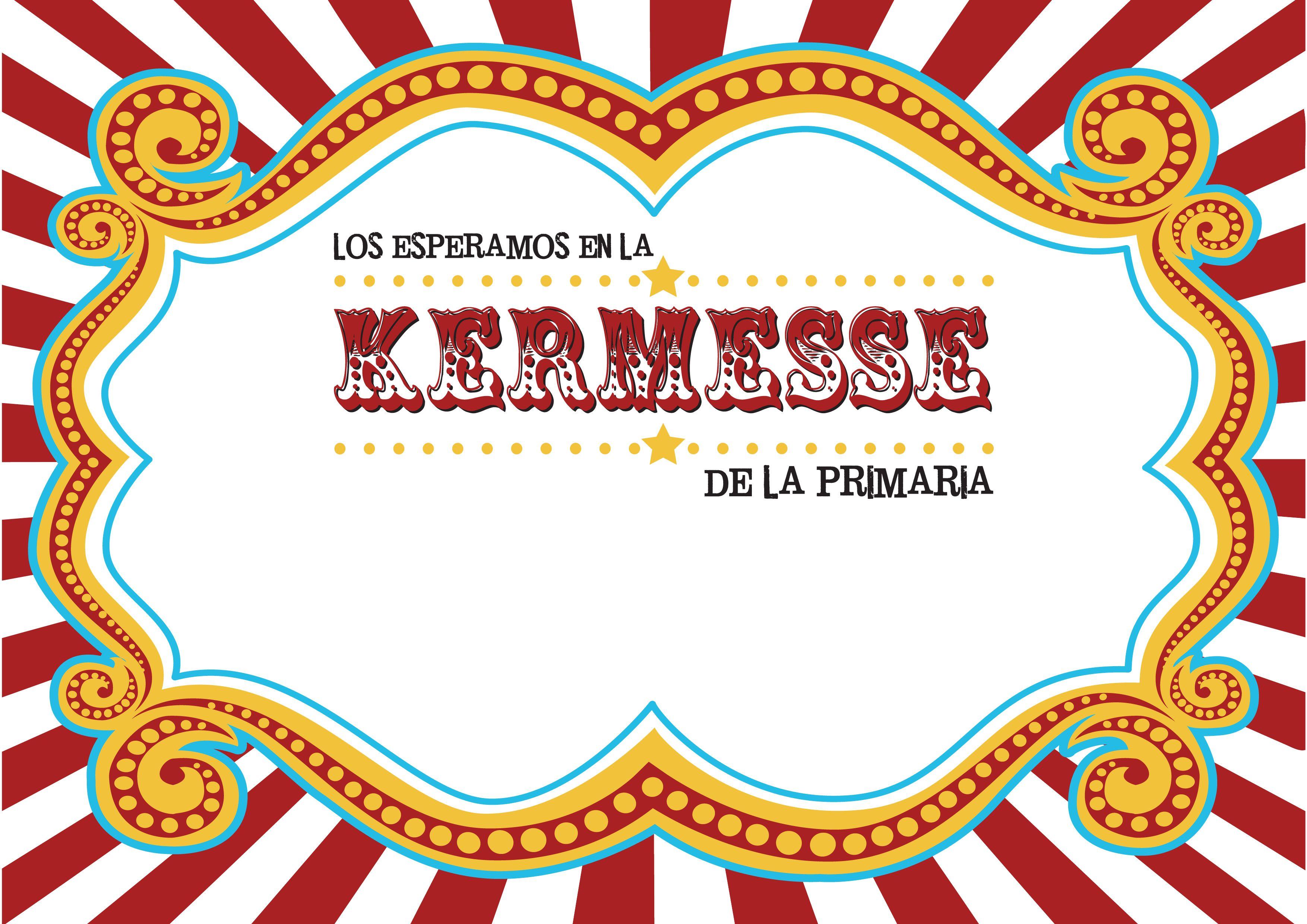 Kermesse De La Primaria Juegos De Fiesta Para Niños