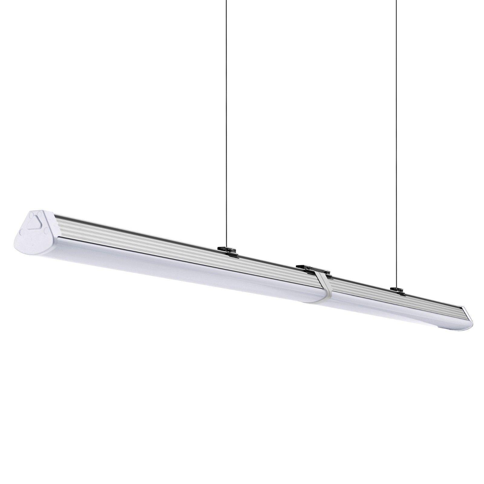 Led Linear Hallenleuchte Tube Rohre Leuchte 40w 60w Wannenleuchte Lichtleiste Ebay Lichtleiste Led Wanne