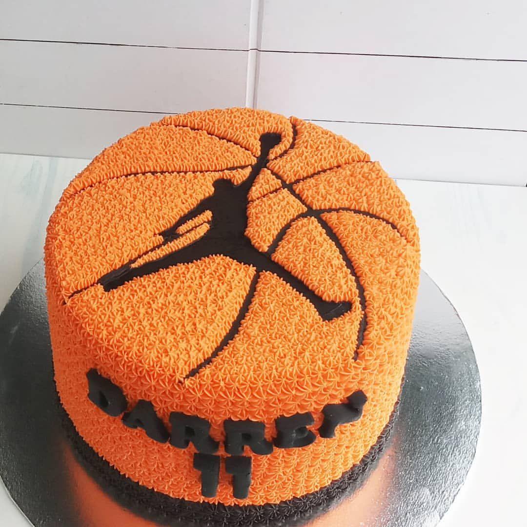 Sensational Basketball Airjordan Birthday Birthdaycake Cake Cakes Eeeats Personalised Birthday Cards Sponlily Jamesorg