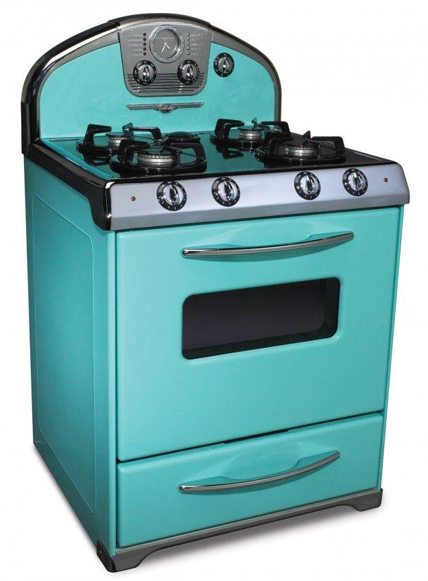Estufas retro gas ideas para el hogar cocinas retro for Cocinas economicas a gas