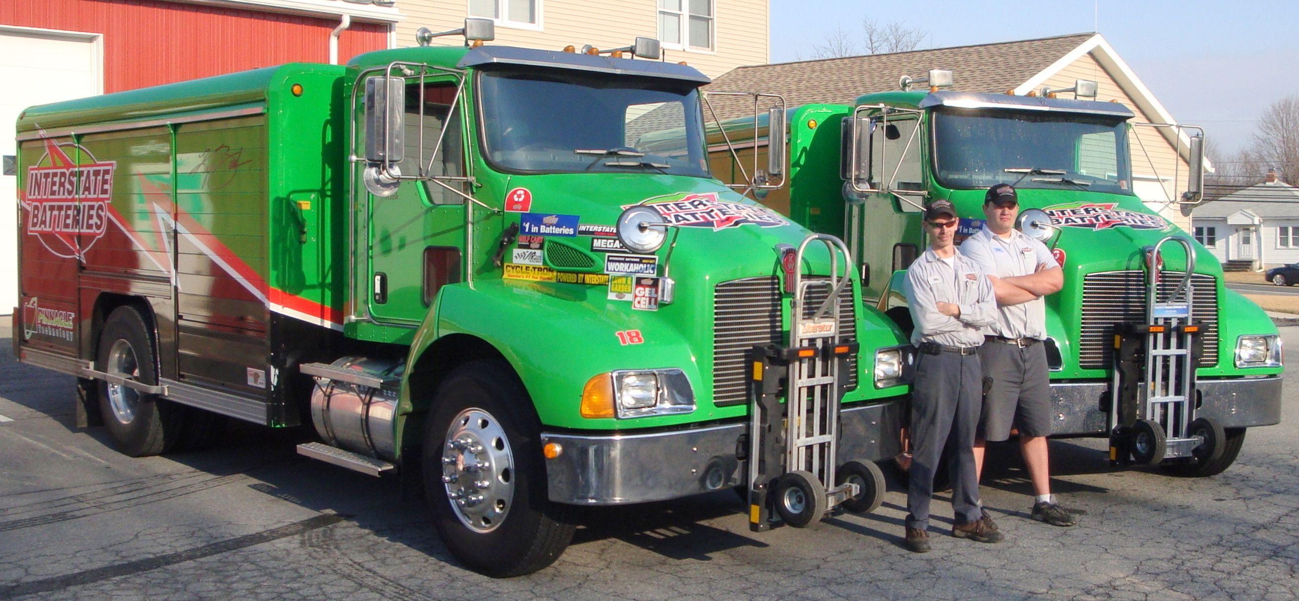 Interstate Batteries T300 Kenworth Chassis Trucks Kenworth Hand Trucks