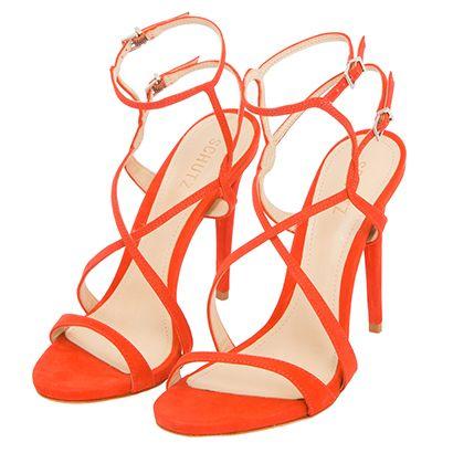 39497fda3871f SCHUTZ - Sandália Schutz fivelas - laranja - OQVestir   Shoes