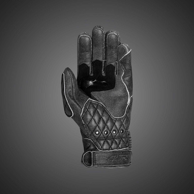 Black gloves races - 4sr Biker Gloves Scrambler Shadow Caferacers Custombike