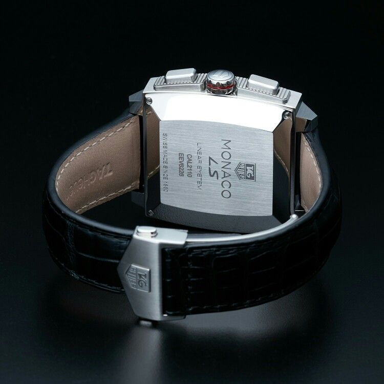 TAG HEUER LS MONACO CHRONO AUTOMATIC // CAL2110.FC6257 // STORE DISPLAY caseback and strap