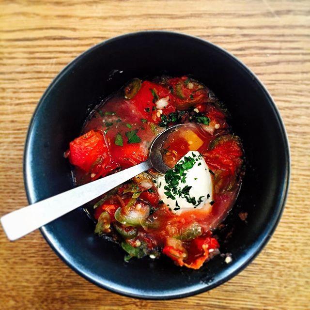 Fermenteret gaspacho #toro-istedgade
