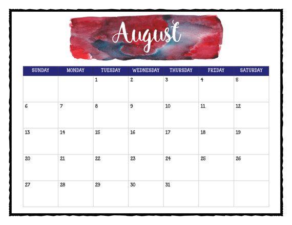 2017 wall calendar printable calendar pages a splash of color