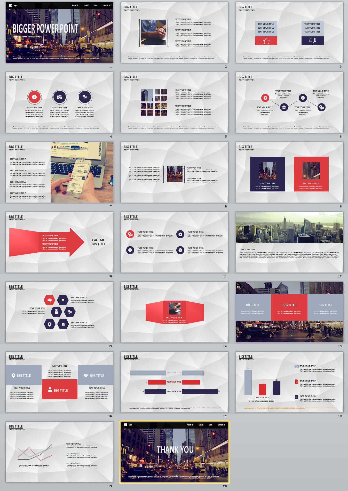 Bigger Professional Powerpoint Templates  The Highest Quality