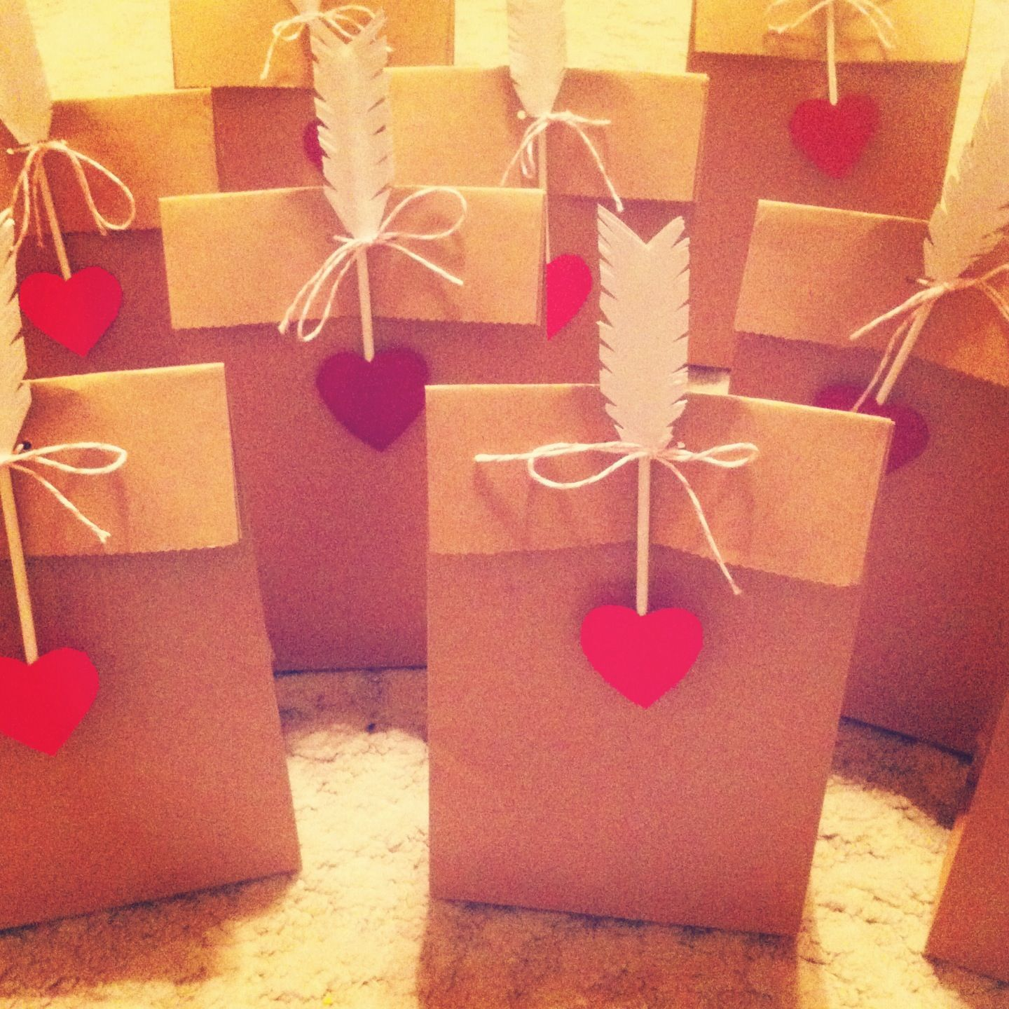 Valentine S Day Treat Bags Ideas For The Class Pinterest