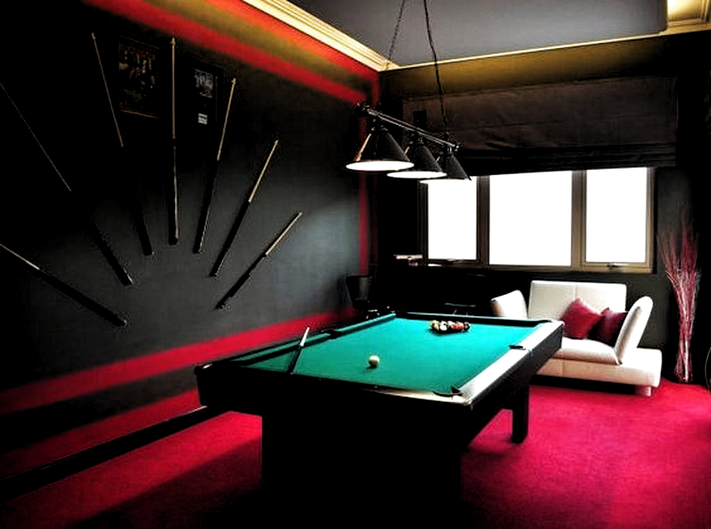 30 Brilliant Billiard Room Designs Ideas For Entertainment In The Home Gameroomdecorgeek Billiard Room Billiards Room Decor Snooker Room