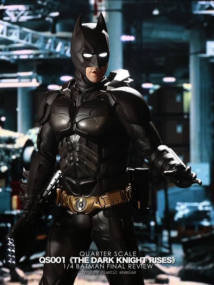 TDKR: 1/4th scale Batman Collectible Figure (Final Product)
