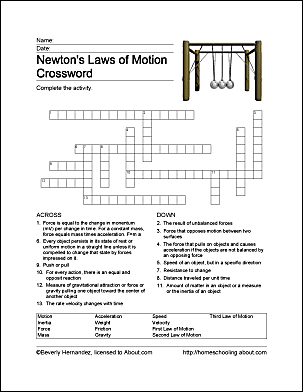 Fun Ways to Learn About Newton's Laws of Motion | Physics | Newtons ...