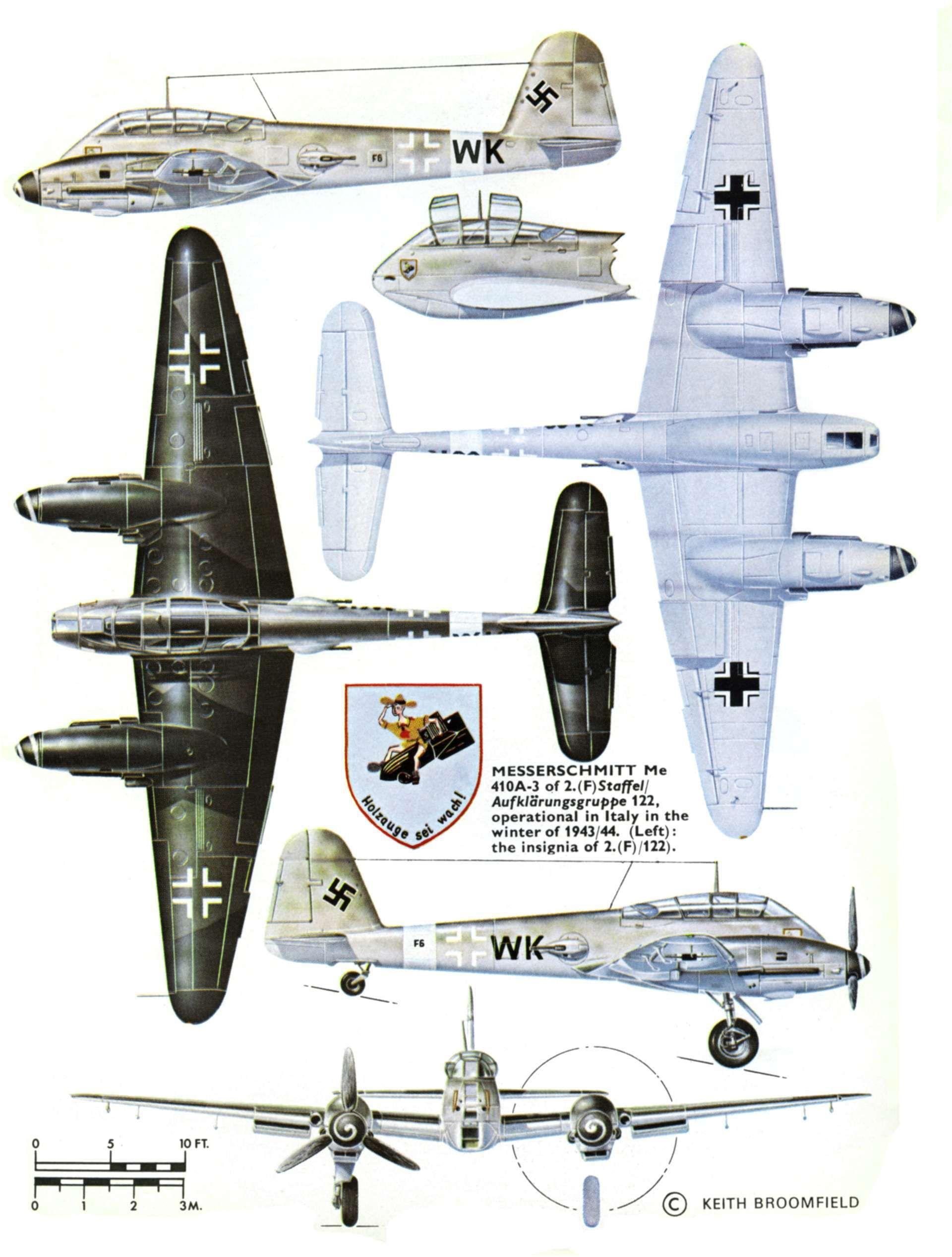 """Messerschmitt ME 410 """"Hornisse"""""""