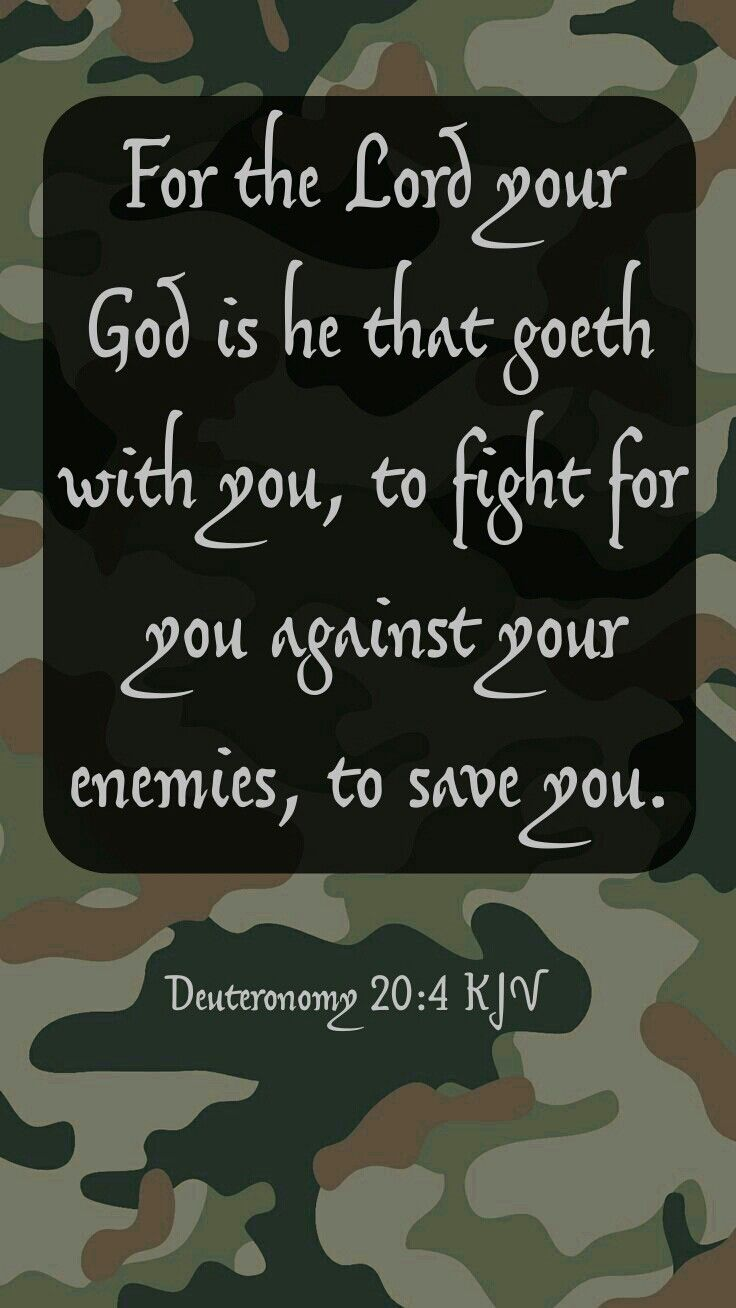 Deuteronomy 20:4 KJV