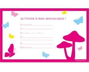 Invitations anniversaire imprimer anniversaire musique - Carte violetta a imprimer ...