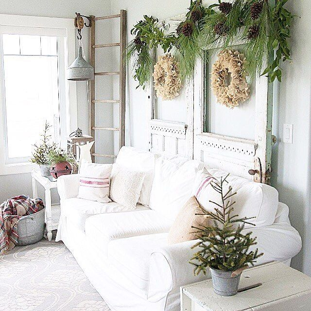 again with the white, natural, grey, plants 2018 House for Me