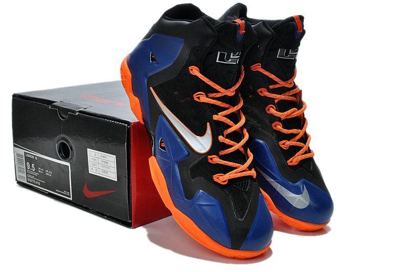 Nike LeBron 11 Superhero Blue 0range  4766a919b