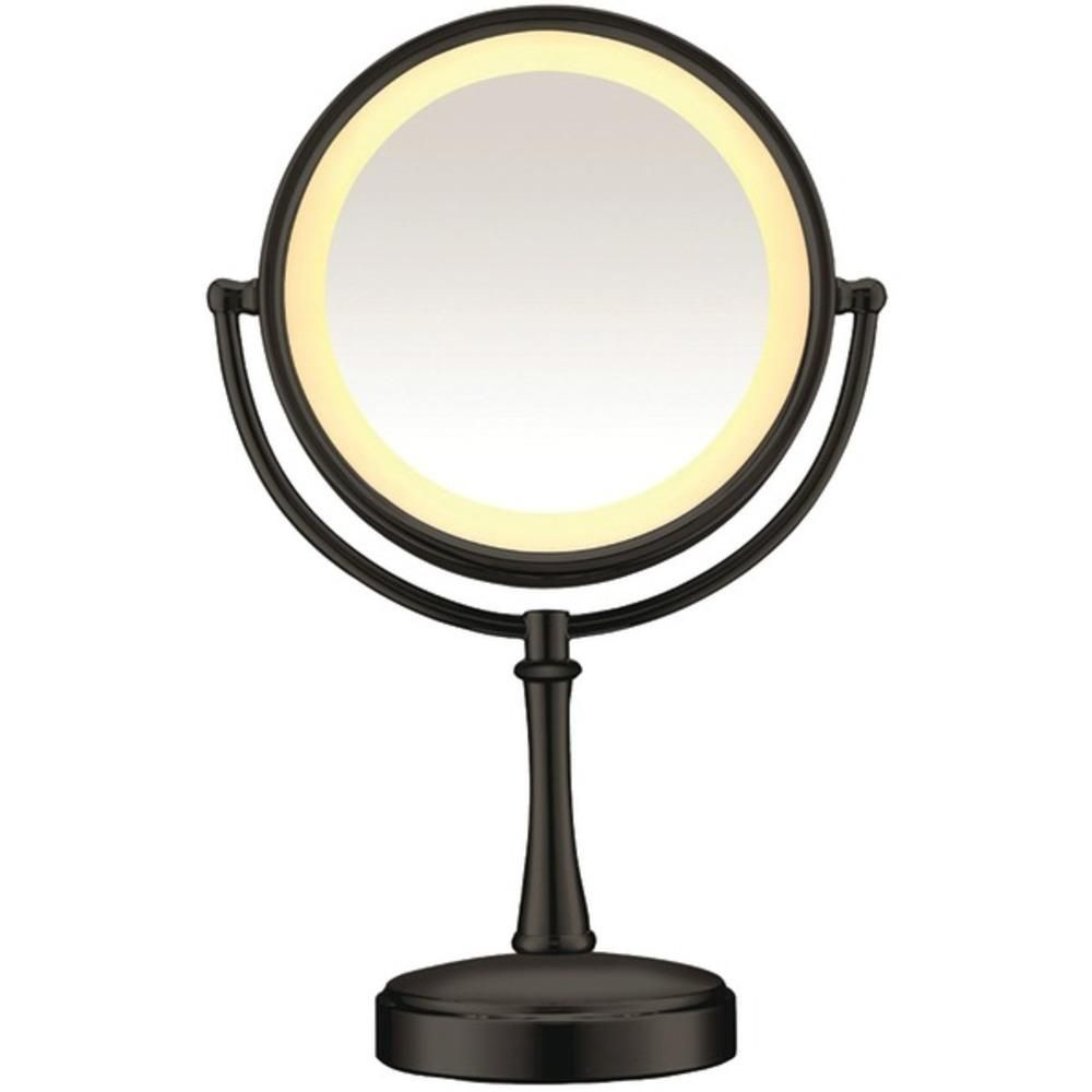 Conair Be87mb Touch Control Lighted Mirror Makeup Mirror With