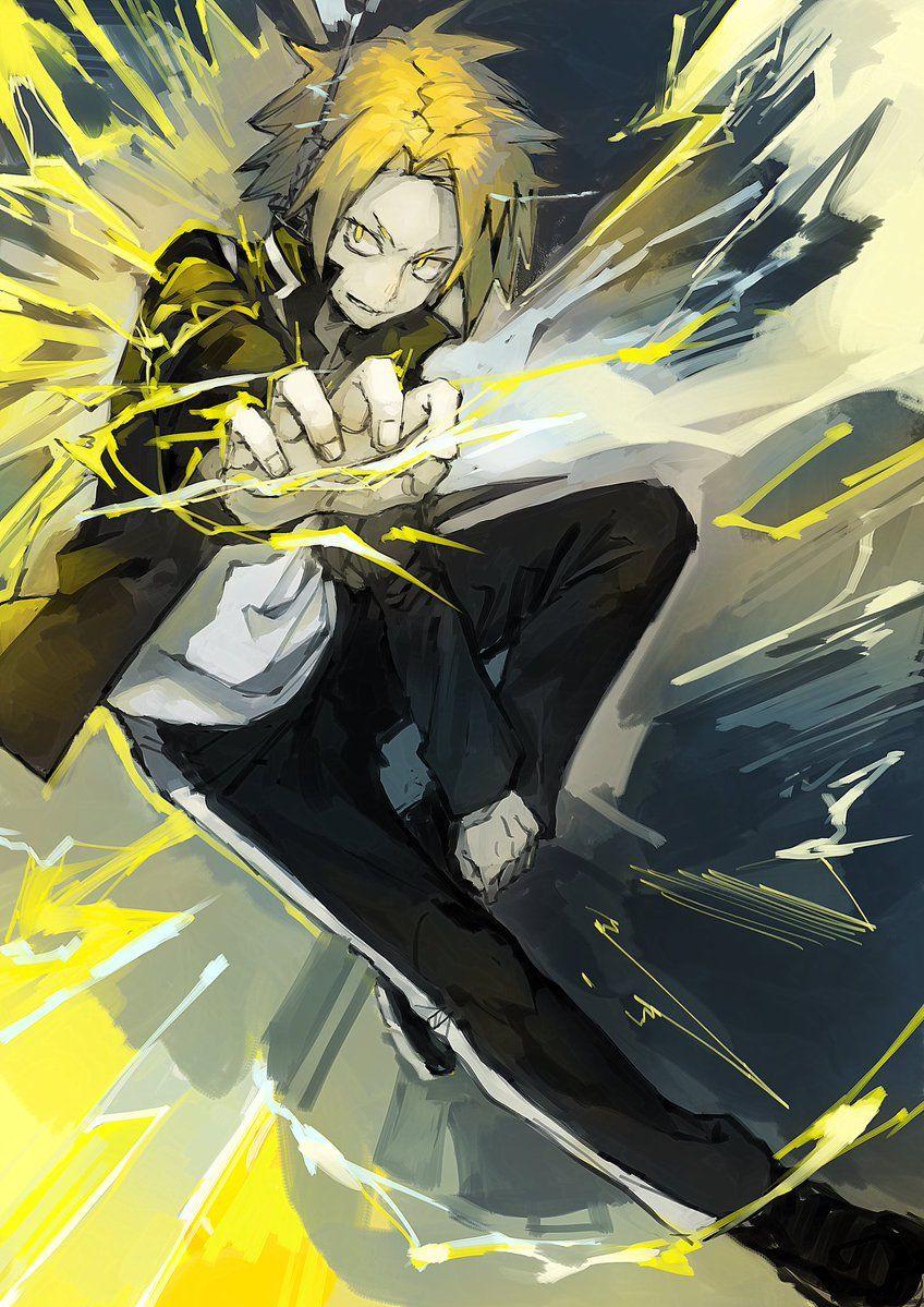 Boku No Hero Academia Kaminari Denki Boku No Hero Academia My Hero Anime