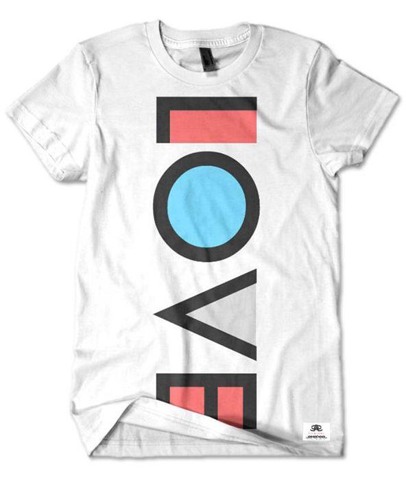 9d50177bf T-shirt printing & Design inspiration: #TshirtTuesday Week 2, typographic t- shirts, t-shirt design inspiration, t-shirt printing London, t-s.