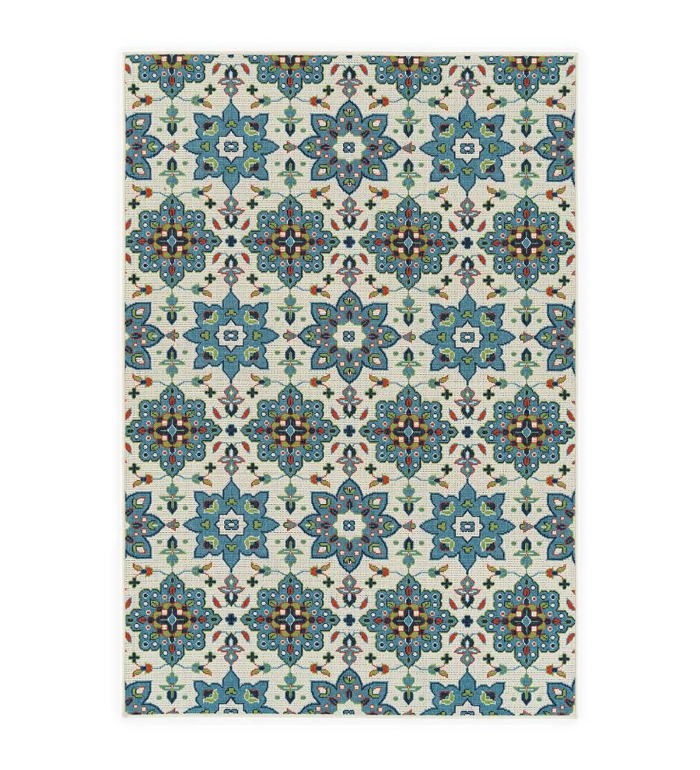 Our Indoor Outdoor Brunswick Floral Polypropylene Rug Adds All The Color And Detail Of An Indoor Rug With The Durability To Liven Up The Great Polypropylene Rugs