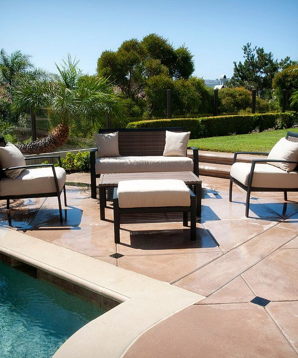 Zen Deep Seating Five Piece Patio Set By Rst Outdoor Zulily