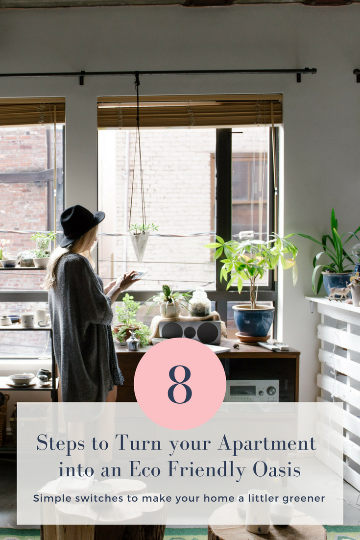 our top tips for an eco friendly apartment use these simple steps to spruce up your rental. Black Bedroom Furniture Sets. Home Design Ideas