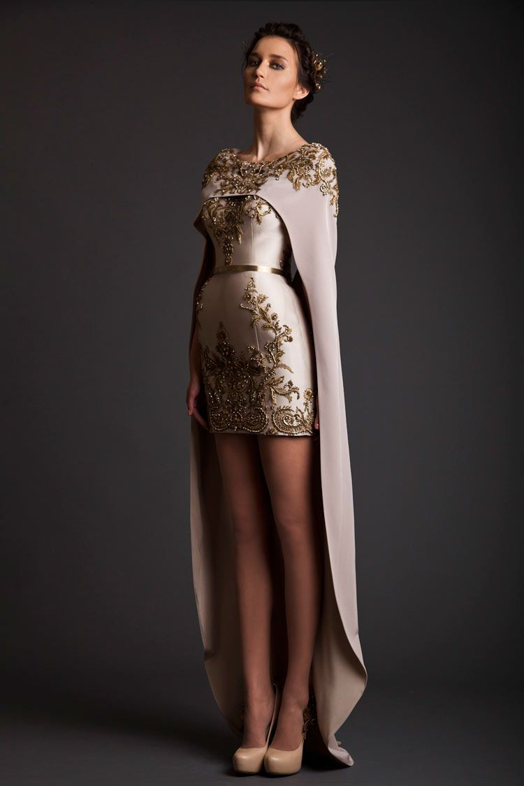 The princess of krikor jabotian royal red couture collection and