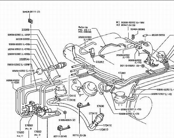 1994 Toyotum 4runner Engine Diagram