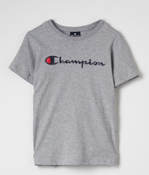 Champion Crewneck T-Shirt Grey Melange