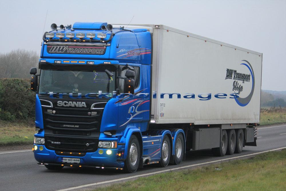 £0.99 GBP Truckingimages Truck Photos Irish Scania R
