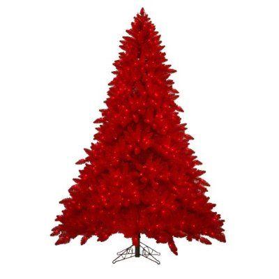 Arboles De Navidad Color Rojo Buscar Con Google All Red