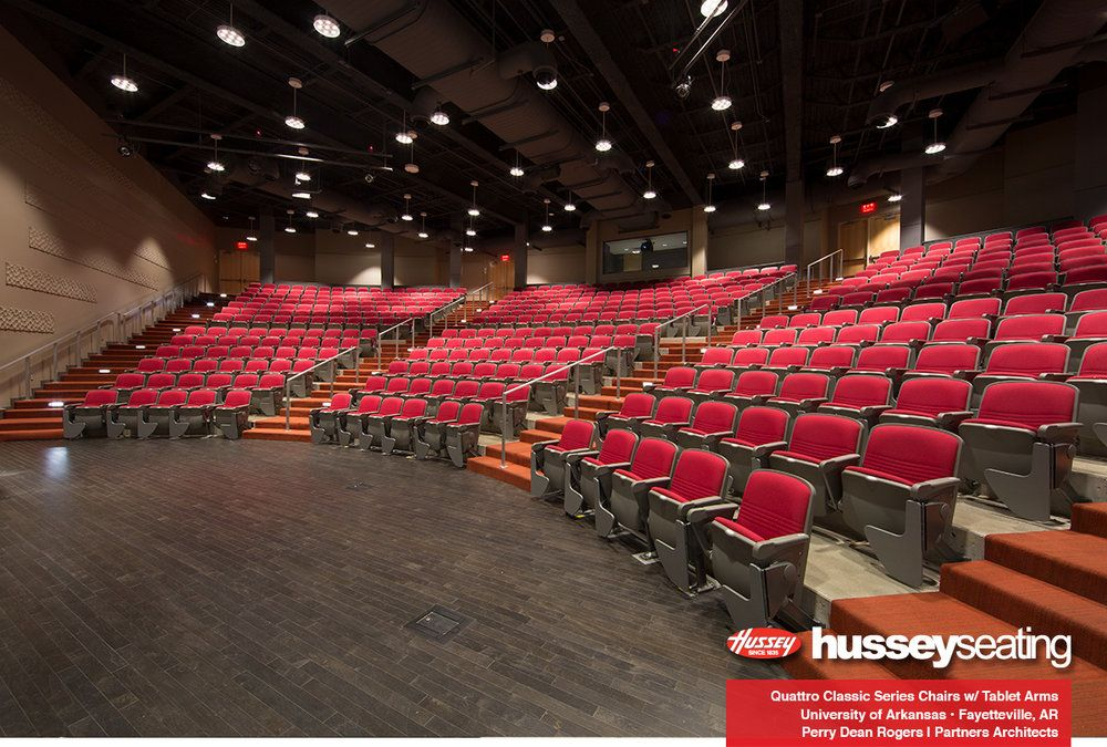 Biddeford High School Performing Arts Center And Auditorium Features Tablet Arms And A Stylish Oran University Of Arkansas School Colors Performing Arts Center