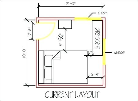Best Epic 10X10 Bedroom Layout 85 For Your Small Home Decor 400 x 300