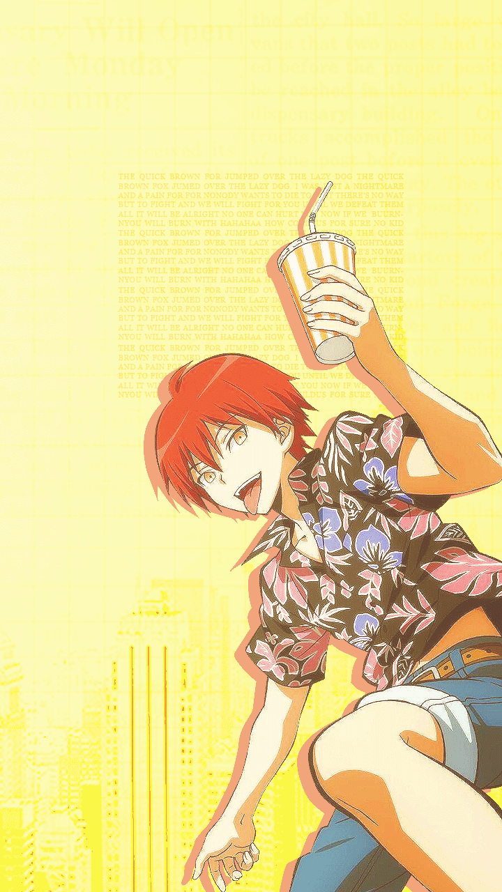 Karma Anime Phone Wallpaper Enjoy Anime Karma Akabane Karma