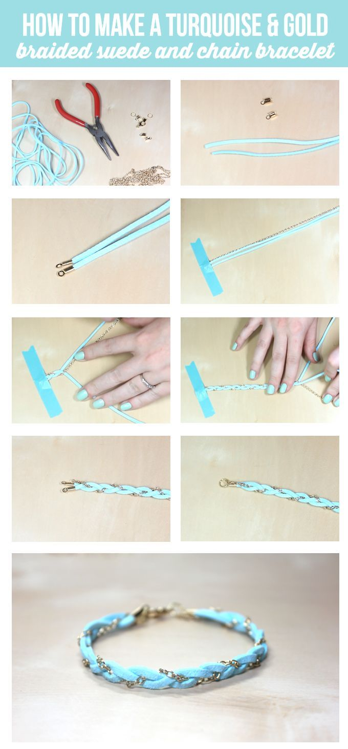 How To Make A Braided Bracelet Cute And Simple Tutorial On Lilluna