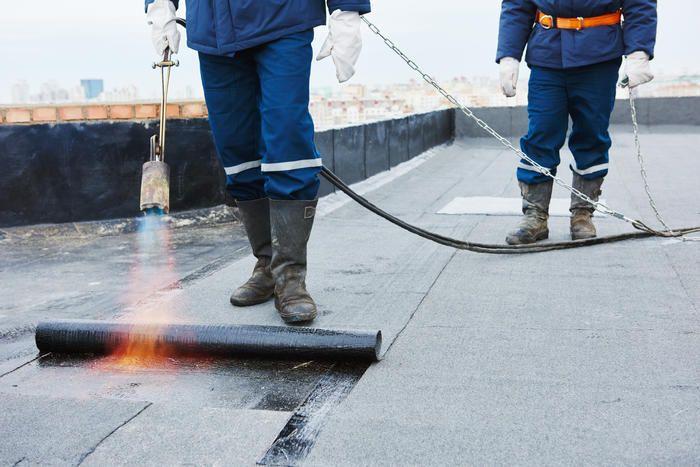 Dachpappe verlegen So wird das Flachdach wasserdicht