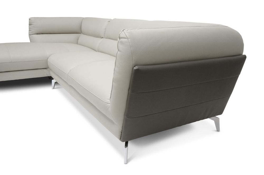 Baxton Studio Quall Gray Modern Sectional Sofa for the best deal price of affordable modern furniture in Chicago.  sc 1 st  Pinterest : affordable modern sectionals - Sectionals, Sofas & Couches
