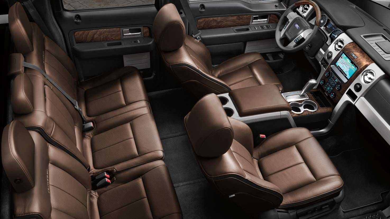 2015 Ford F150 Interior