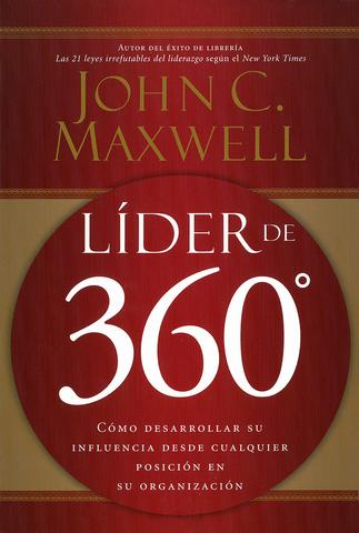 Líder De 360 Libro John Maxwell Liderazgo Libros Sobre Liderazgo