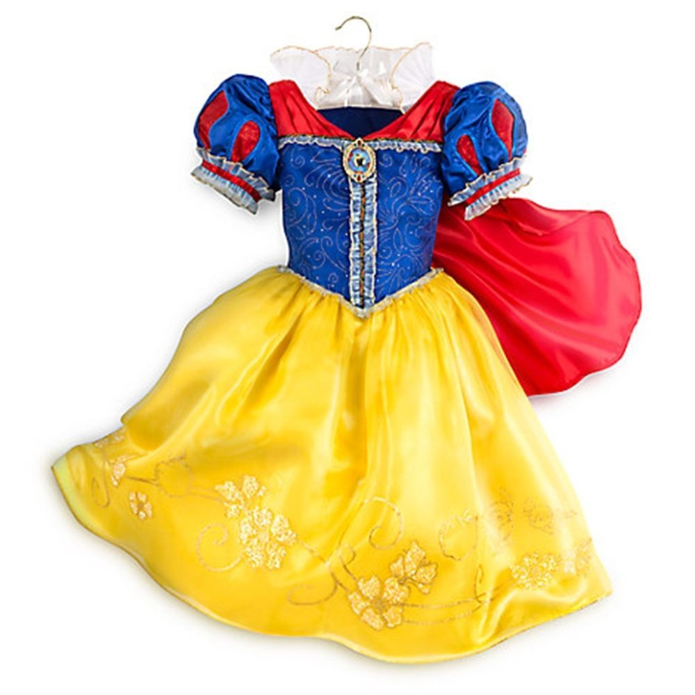 Disney Store Snow White Costume Dress for Girls Sz 4T 5/6 ...  Original Snow White Costume