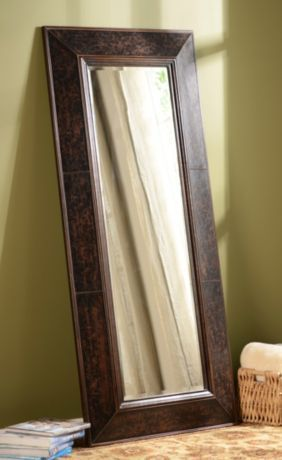 Floor mirror | Rustic wall decor, Mirror, Leather mirror on Floor Mirrors Decorative Kirklands id=76449