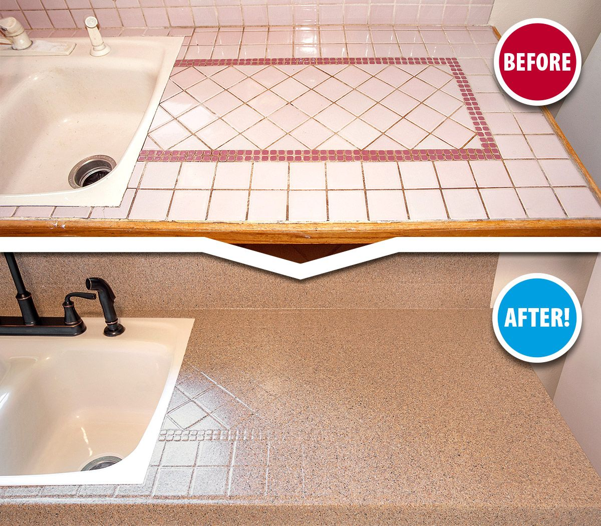 Tired Of Scrubbing And Repairing The Grout Lines On Your Outdated
