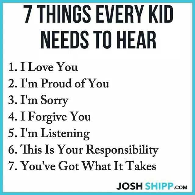 Every child needs to hear this!!